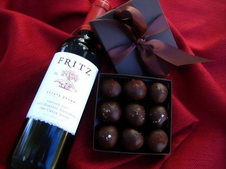 Вино и шоколад противостоят ожирению и диабету